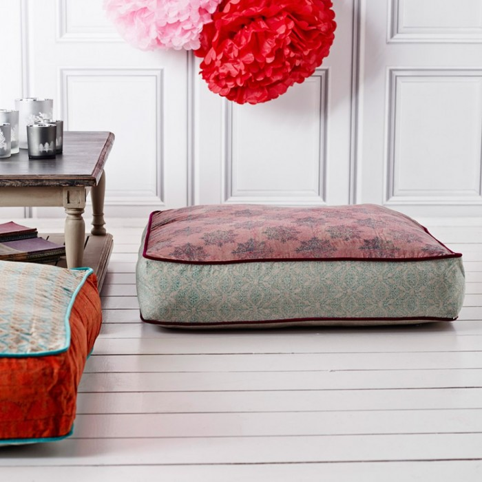 Exotic Floor Pillows : Floor Pillows Ikea Adorn Interior with Exotic Asian Style HomesFeed