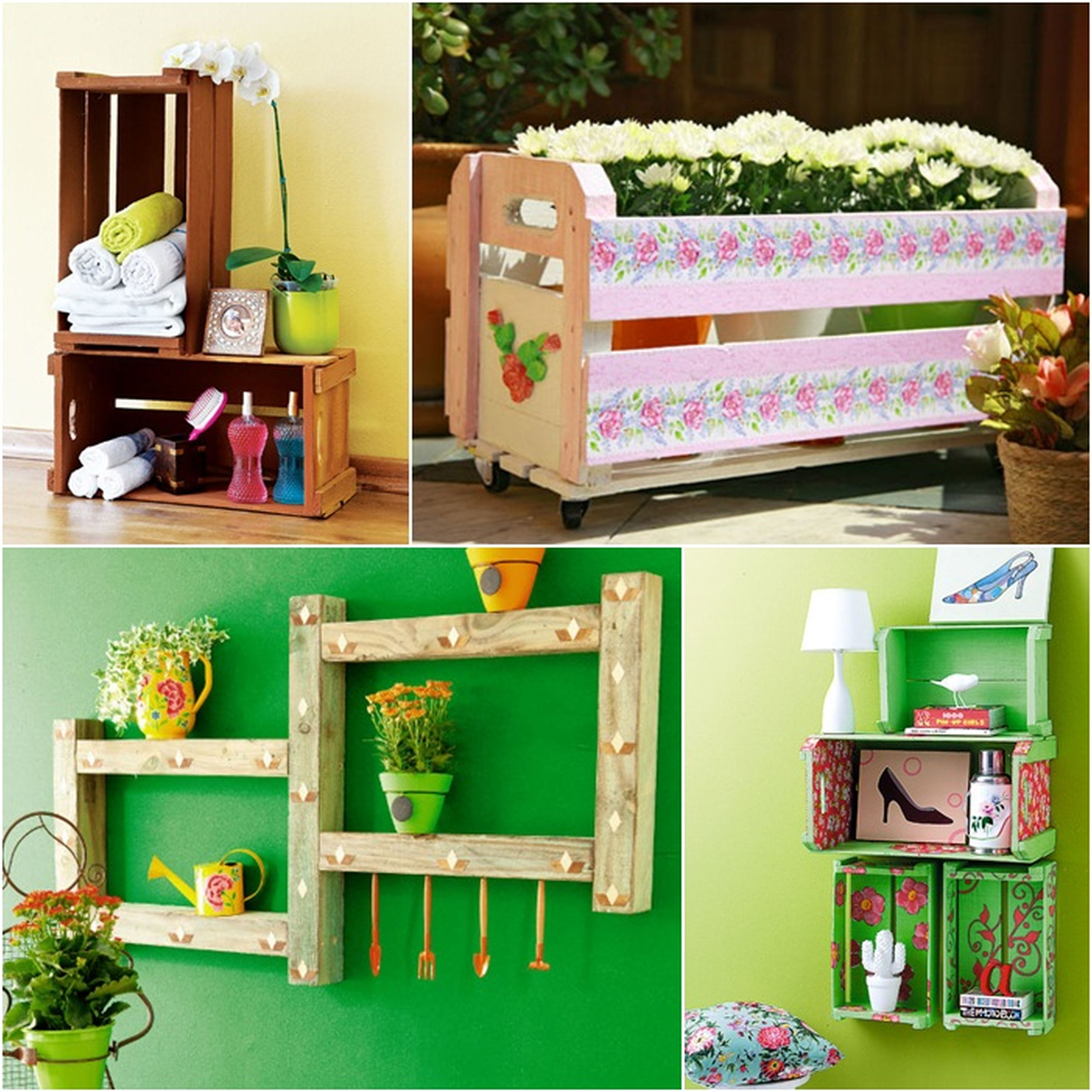 Living Room Diy Home Design Ideas diy home design homesfeed shelf plants pot lamp flower colorful