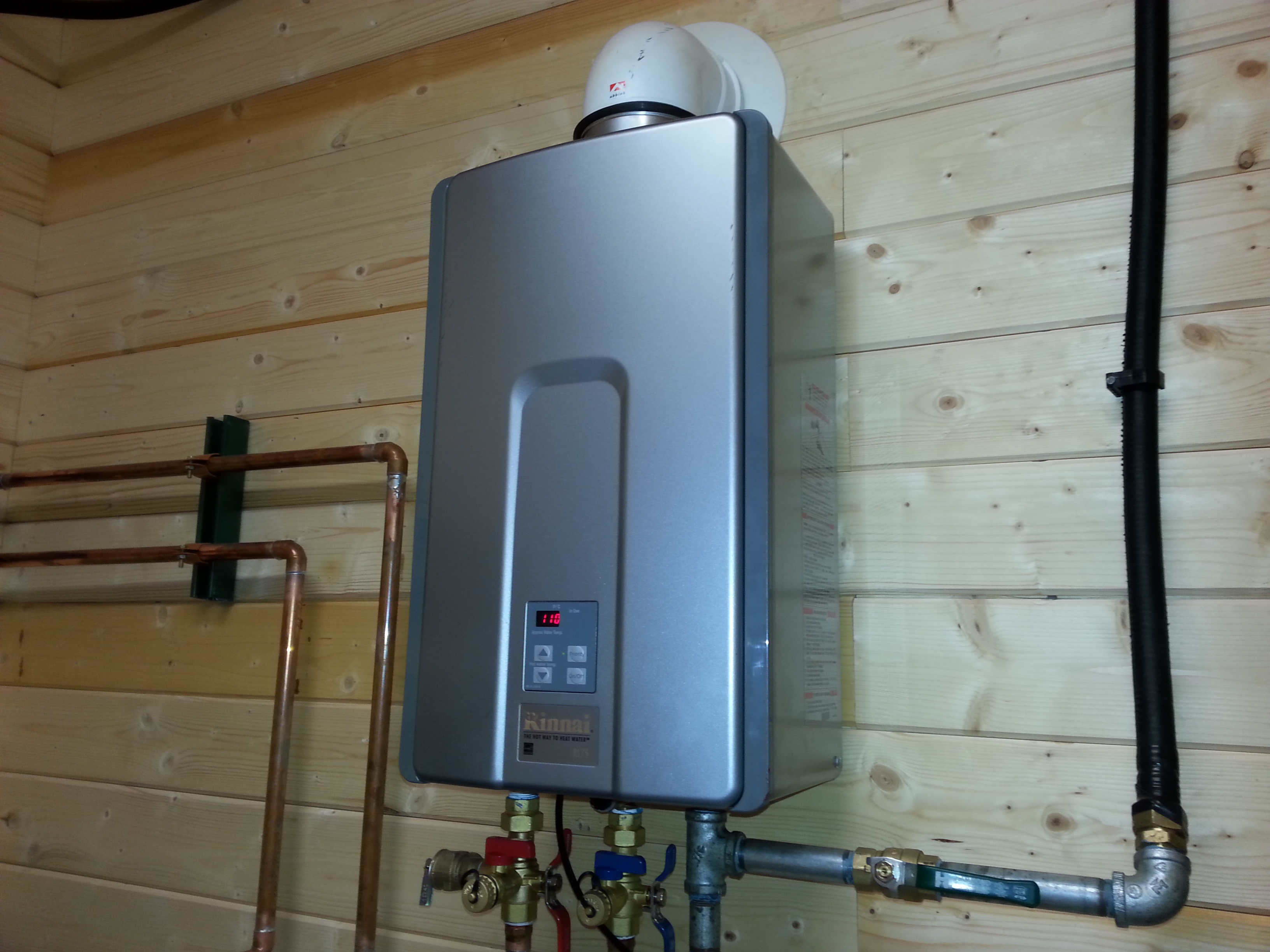 Whole House Tankless Water Heater House Plan 2017