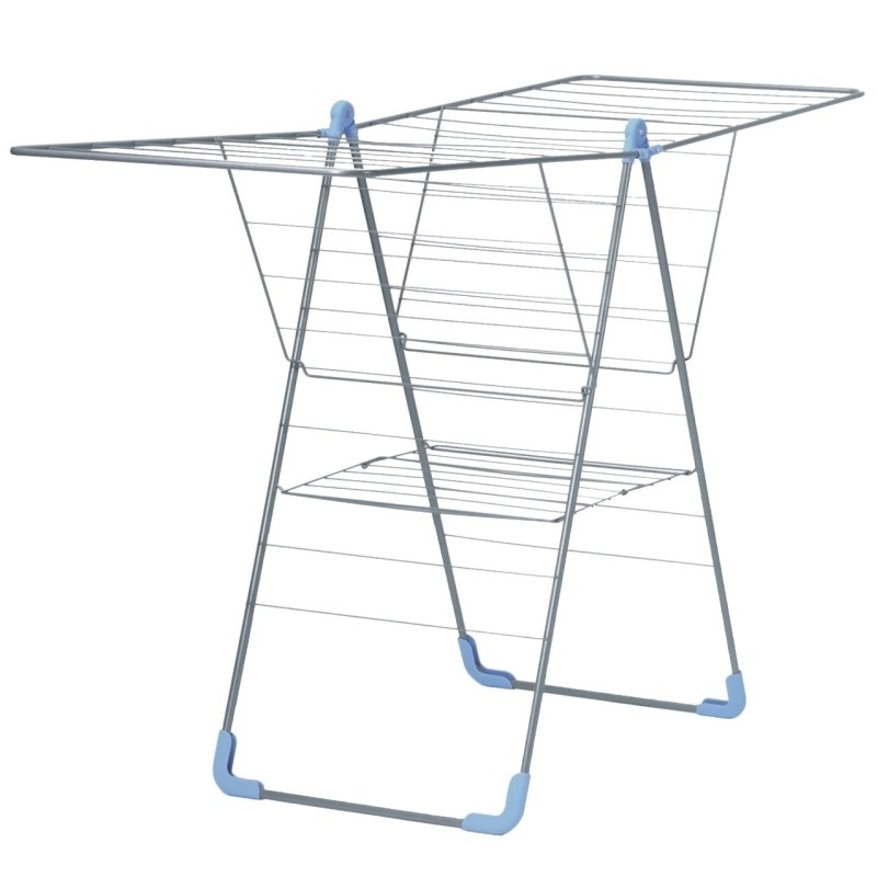 Ikea clothes drying rack best solution for narrow laundry space homesfeed - Laundry drying racks for small spaces property ...