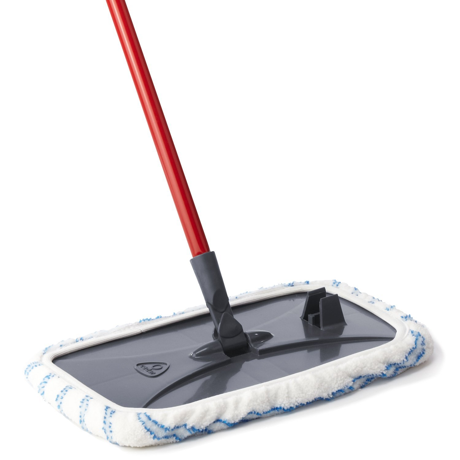 simple black and white dust mop for wood floor with plastic accent and red  stick to - Some Chic Dust Mop Design That Is Perfect For Wood Floor HomesFeed