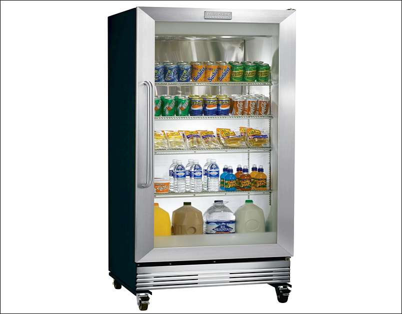 Glass Door Refrigerators Residential : Glass door residential refrigerator gallery