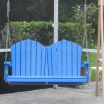 simple blue recycled milk jug furniture simple blue lumber plastic swings lounge patio furniture green yard wooden swings frame