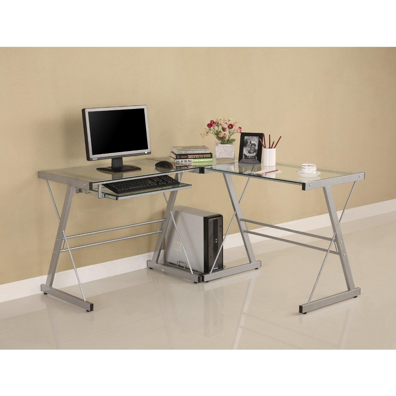 4 recommended desks with printer storage homesfeed for Schreibtisch mit ecke