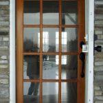simple front door wood