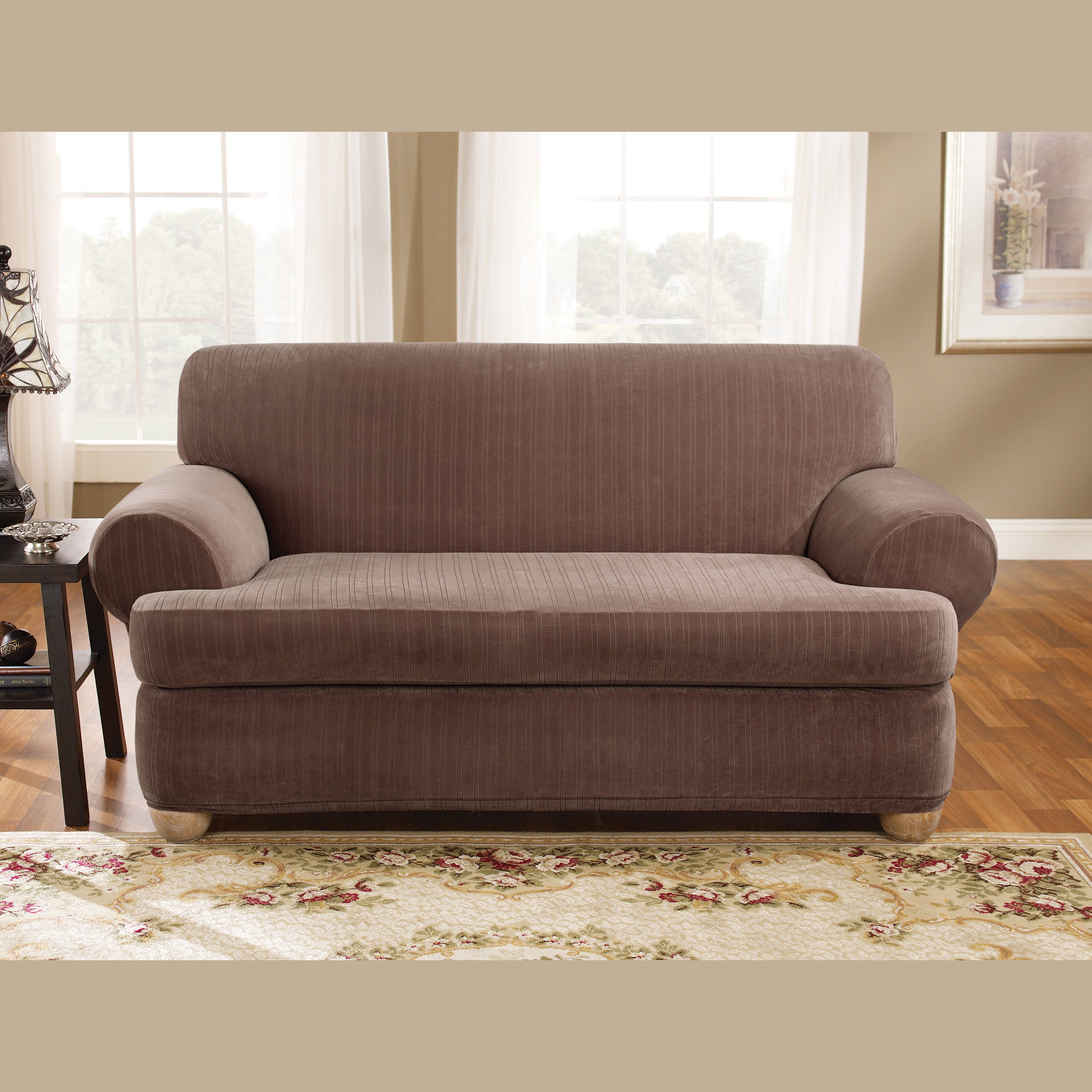 Slipcovers for loveseat ideas homesfeed Loveseat slipcover
