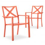 simple target patio chairs in pastel color from wooden for upgrading the patio space