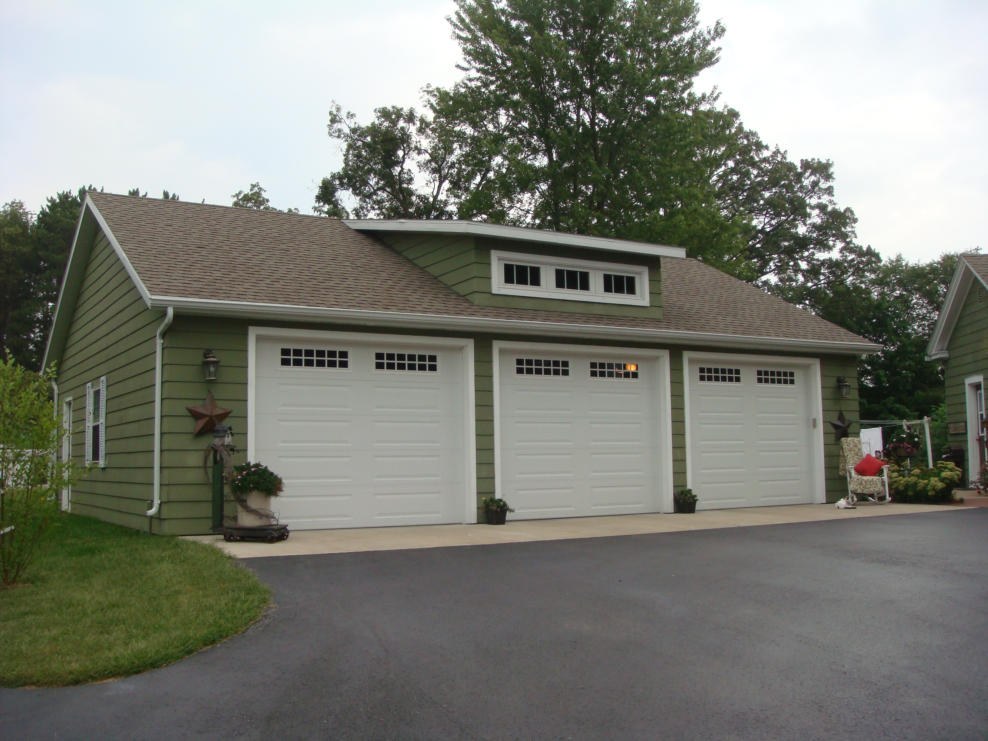 Independent and simplified life with garage plans with for How wide is a 3 car garage