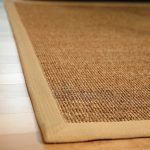 sisal rug ikea close up natural color rug wooden floor