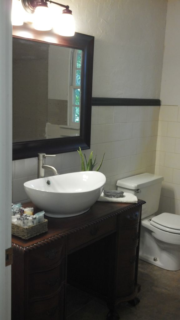 Small Vessel Sink Vanity : Do you plan to build small bathroom vanities with vessel sinks ? Yeah ...