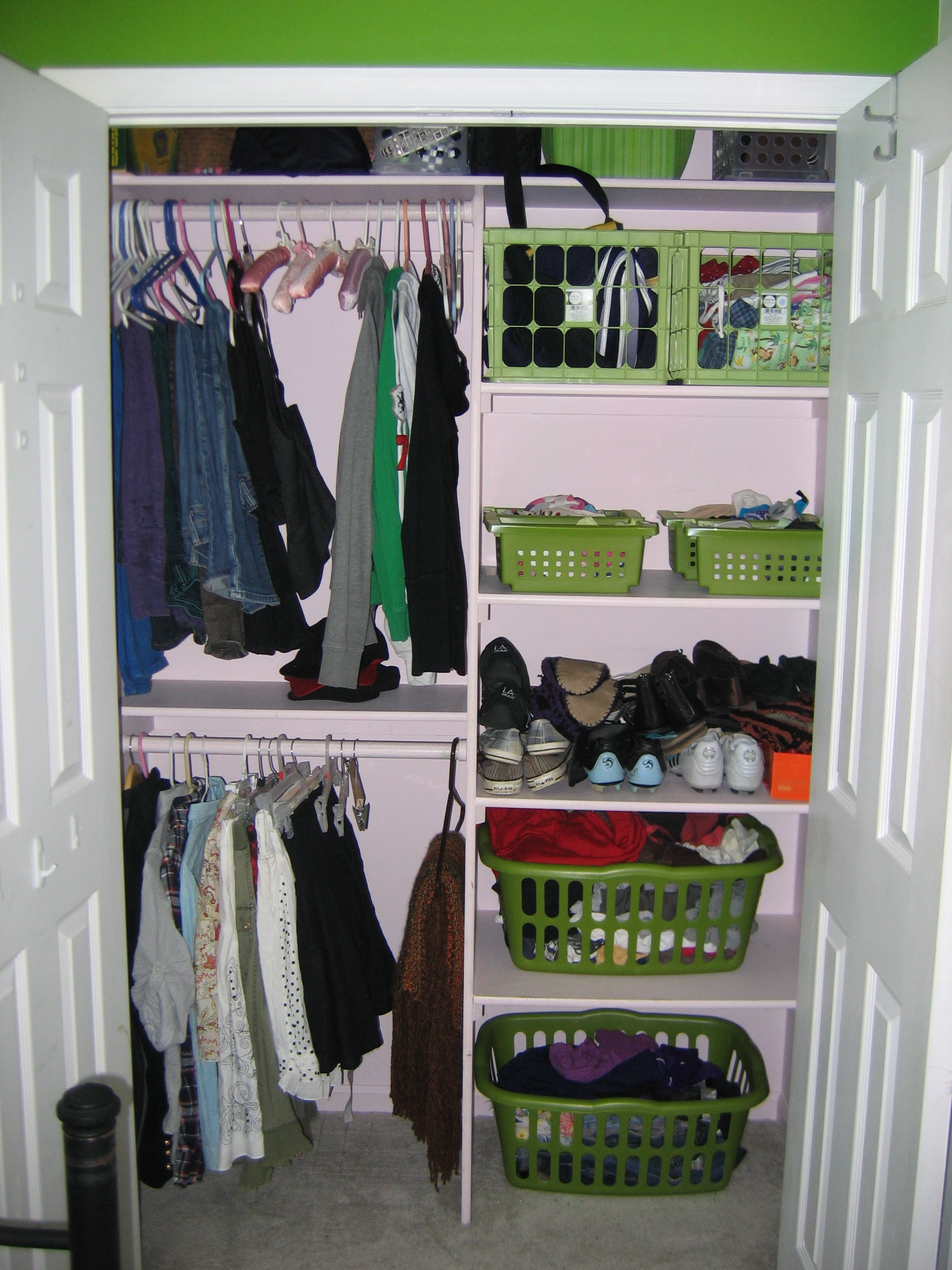 Merveilleux Small Closet Organizer Shoes Clothes