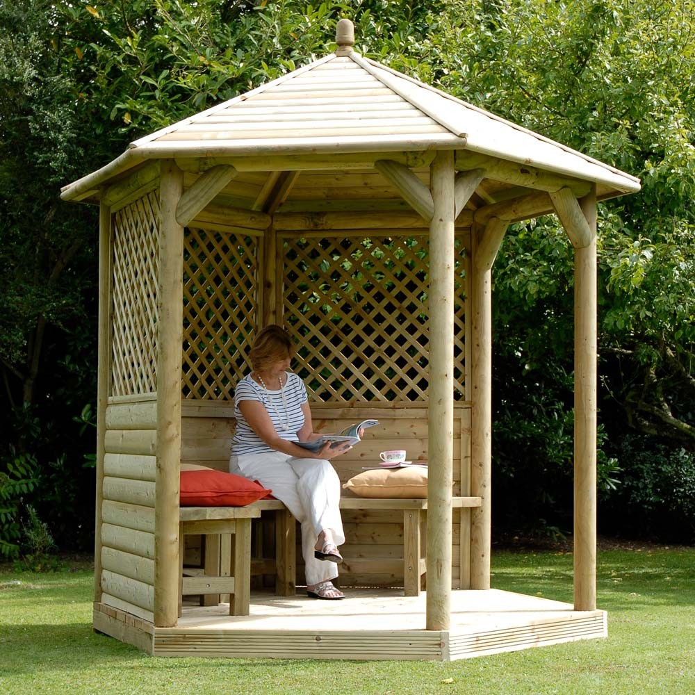 Purchasing Wood Gazebo Kits Advantages Homesfeed