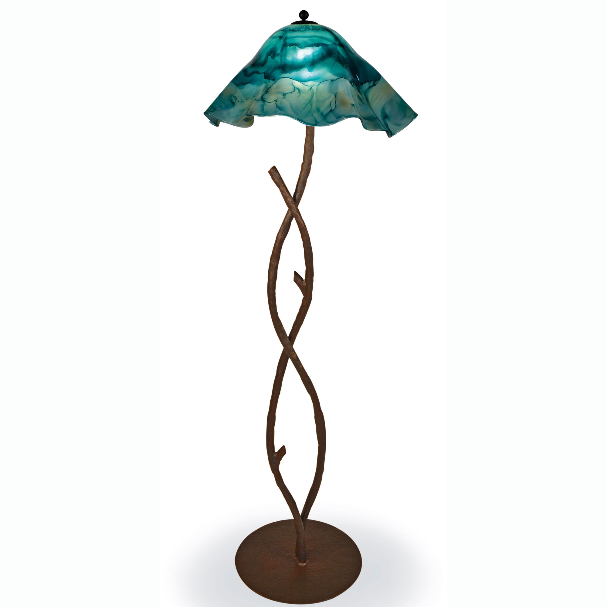 multi products of blue lamp ceramic light table shades indigo turquoise drip