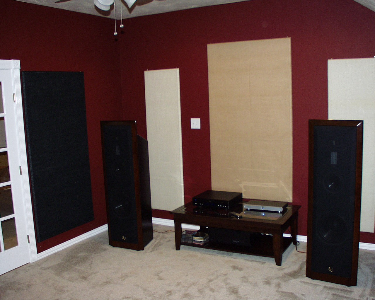 soundproofing an apartment home entertainment room with simple