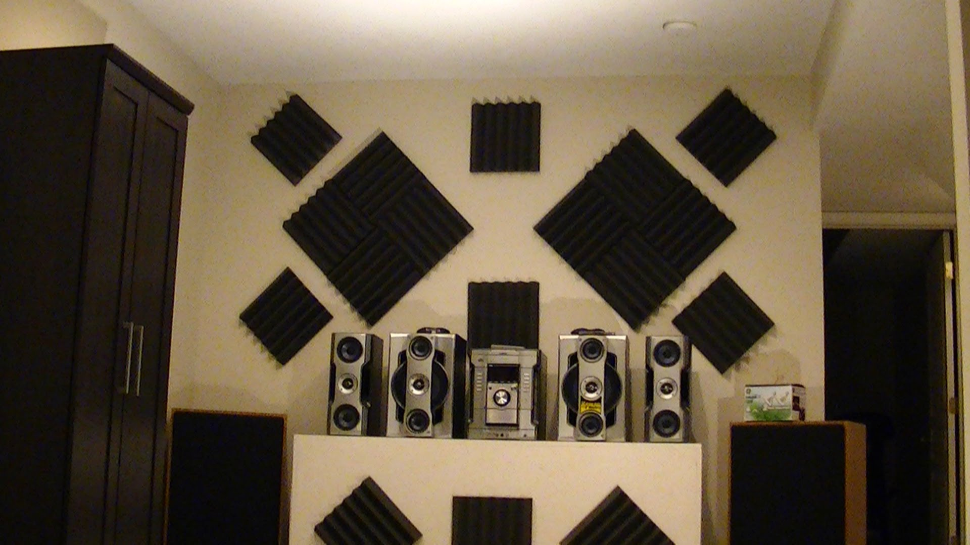 soundproofing an apartment home entertainment room with stylish