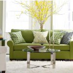 stainless steel table base for glass top round glass table green sofa pattern green cushion wonderful big yellow flower cute ivory fur rug classic black standing lamp