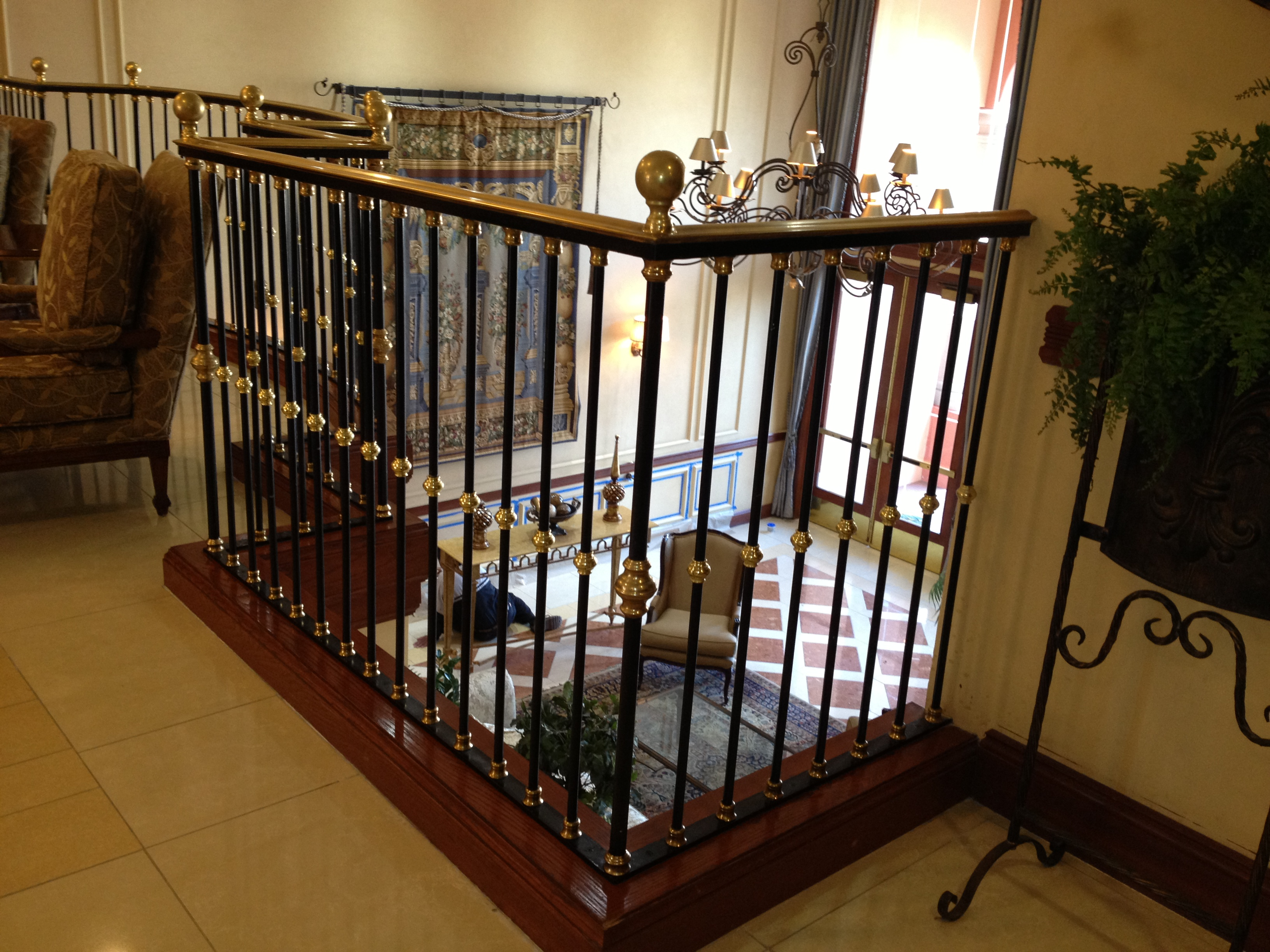 Trend On The Rise Wood And Metal Wall Gallery: Handrails For Stairs Interior