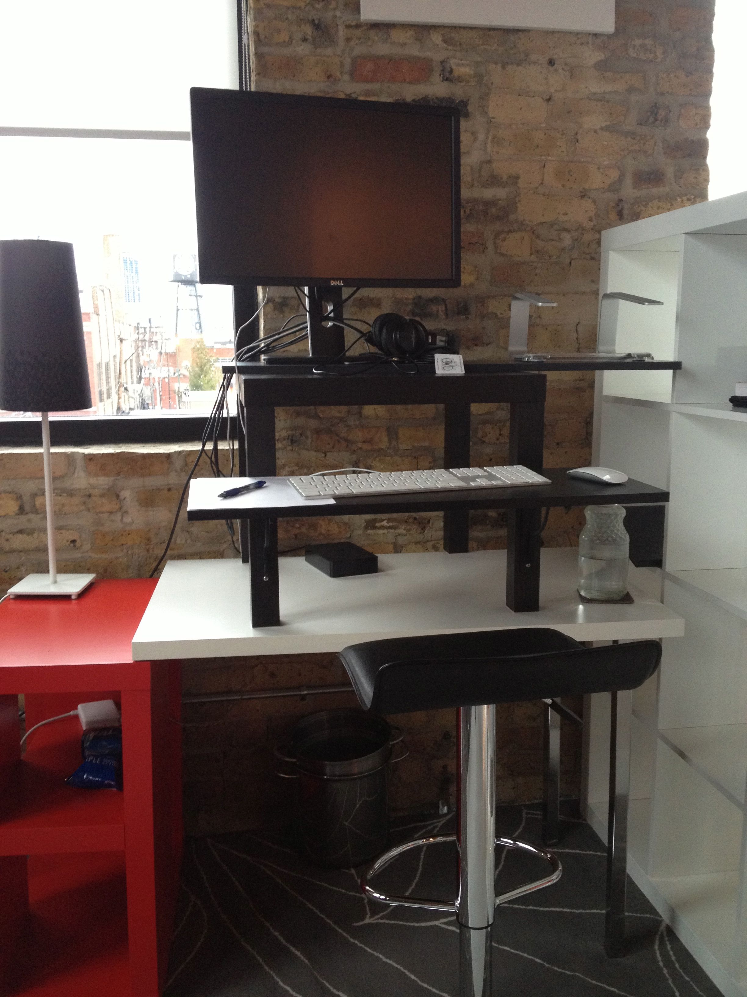 Standing Desks Executive Stand Up Desk: Make Your Own Standing Desk