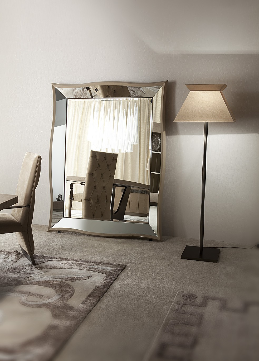 Some Bevelled Floor Mirrors that Add Luxury for Every Interior ...