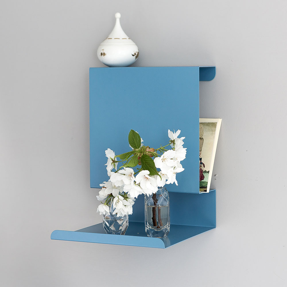 Metal Picture Ledges Displaying Attractive Decorations In
