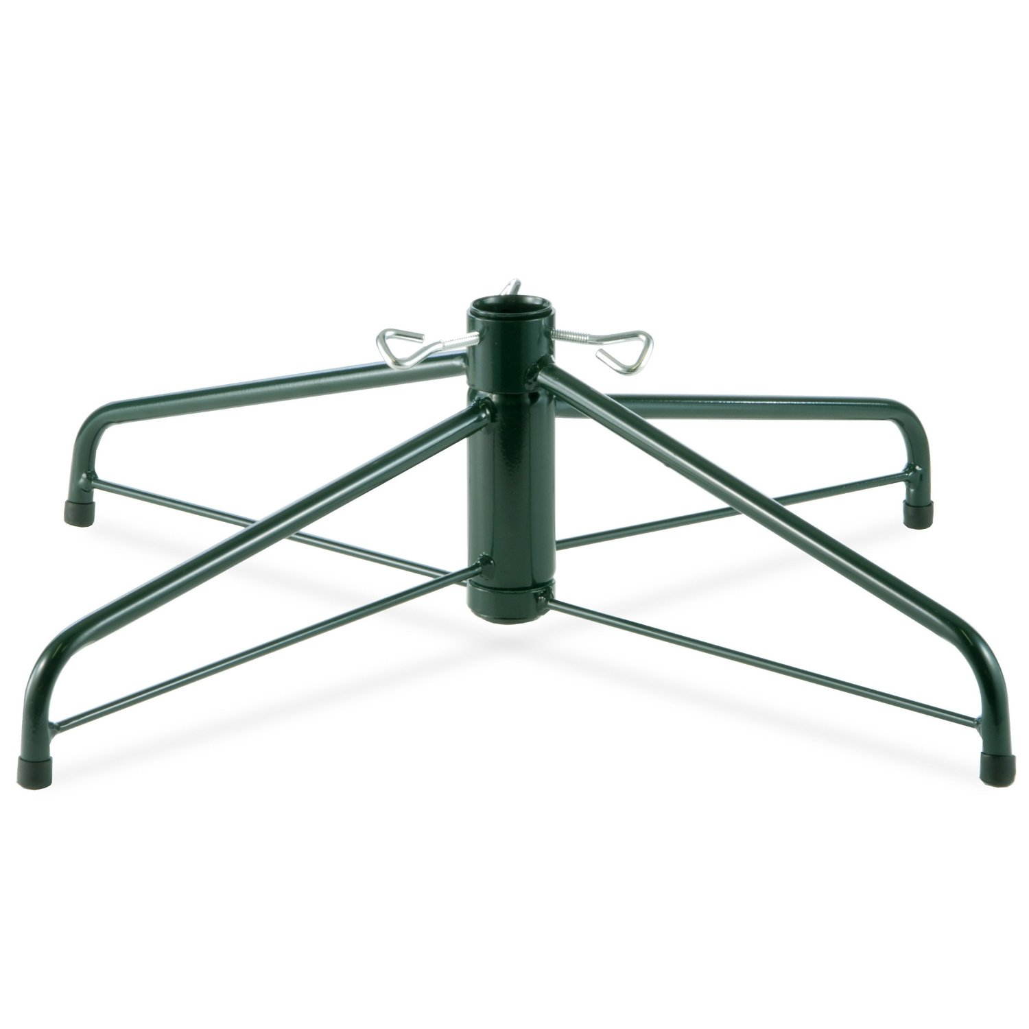 stunning firm metal christamd tree stands for real trees with four legs and strong center pole