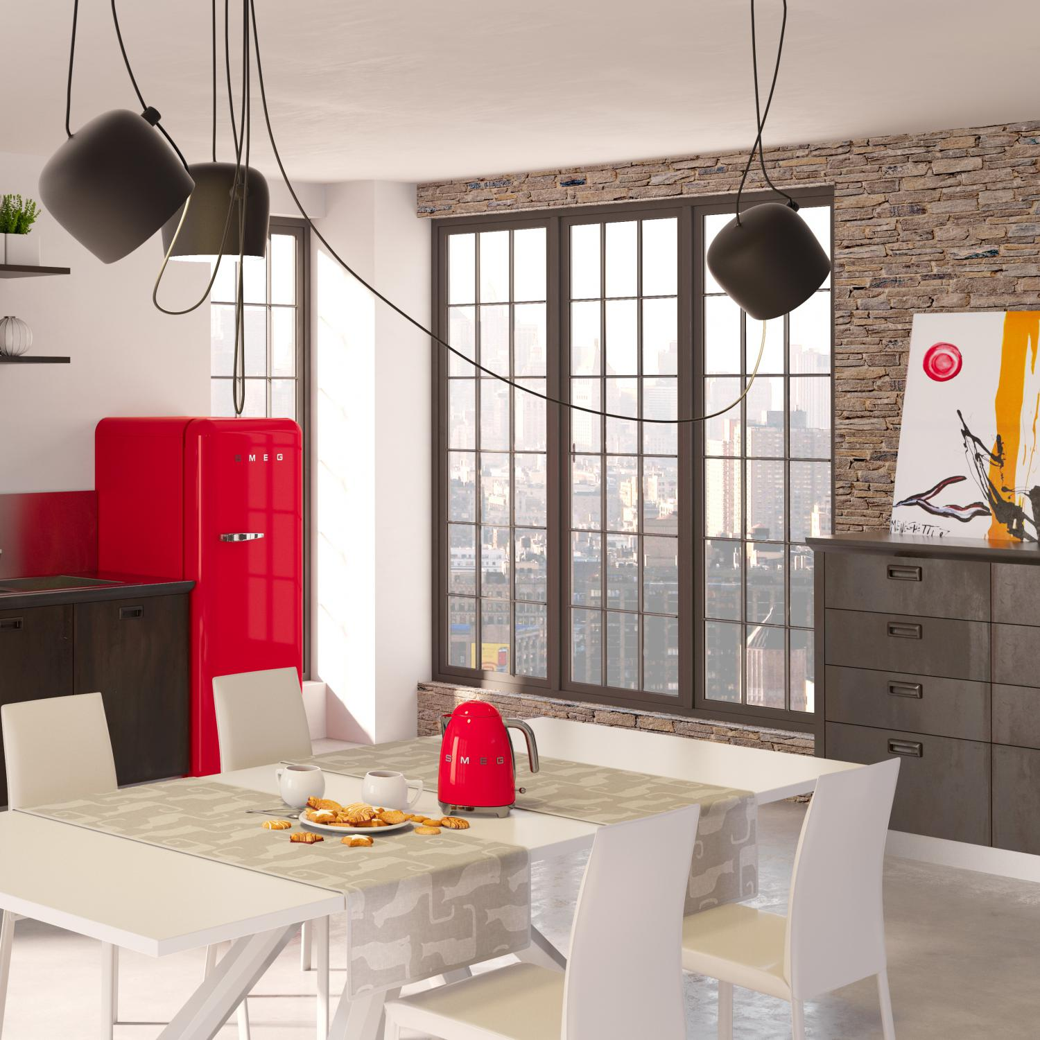 invade your home interior with retro style appliance for unique