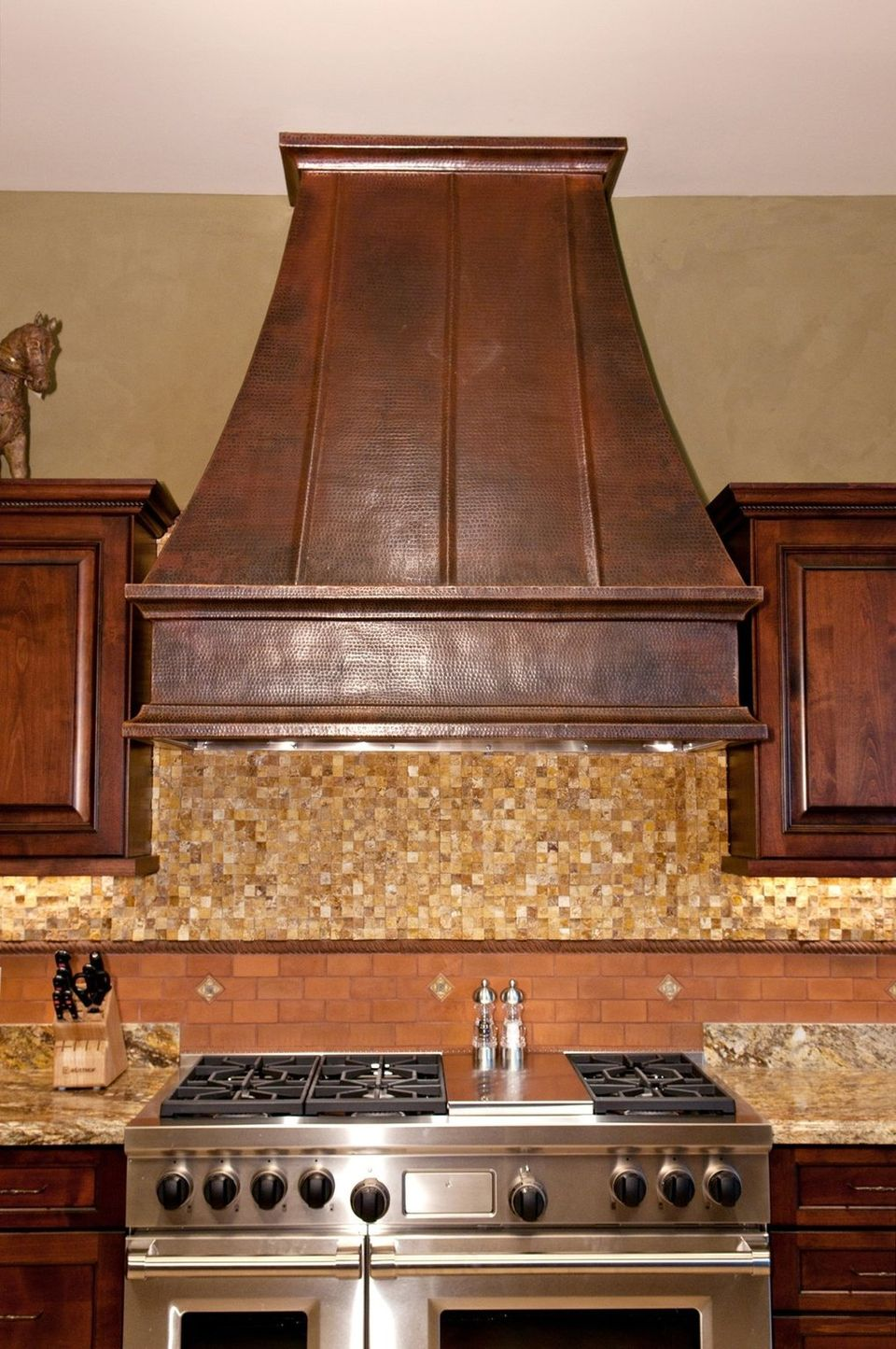 Wood vent hood that you might want to see homesfeed for Kitchen ventilation ideas