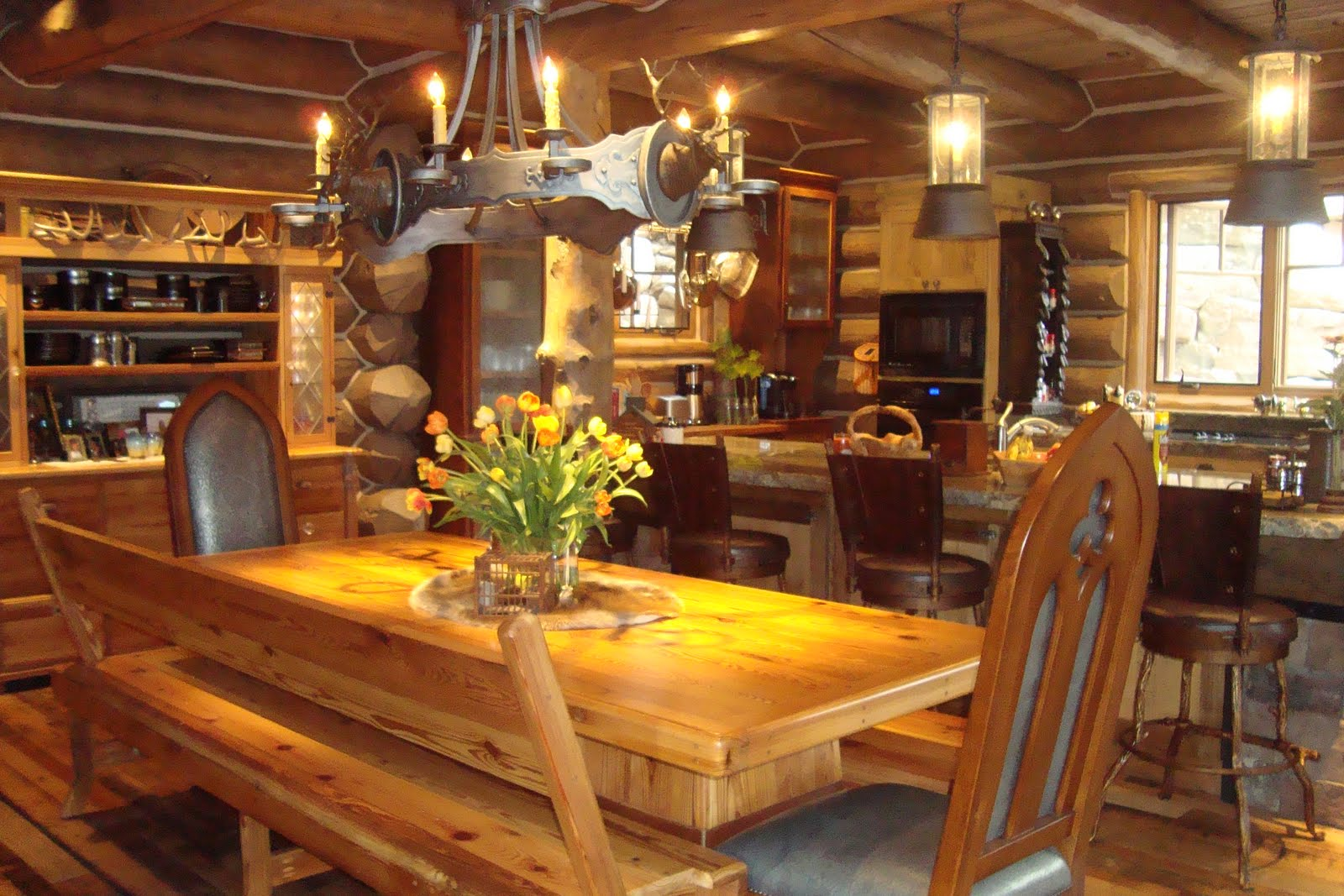 Best style log cabin style home for great escapism that for Interior designs for log cabins