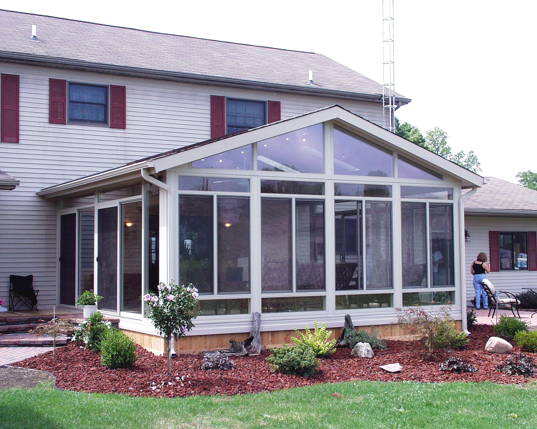 Home sunroom addition ideas homesfeed for Addition ideas