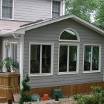 sunroom wood deck