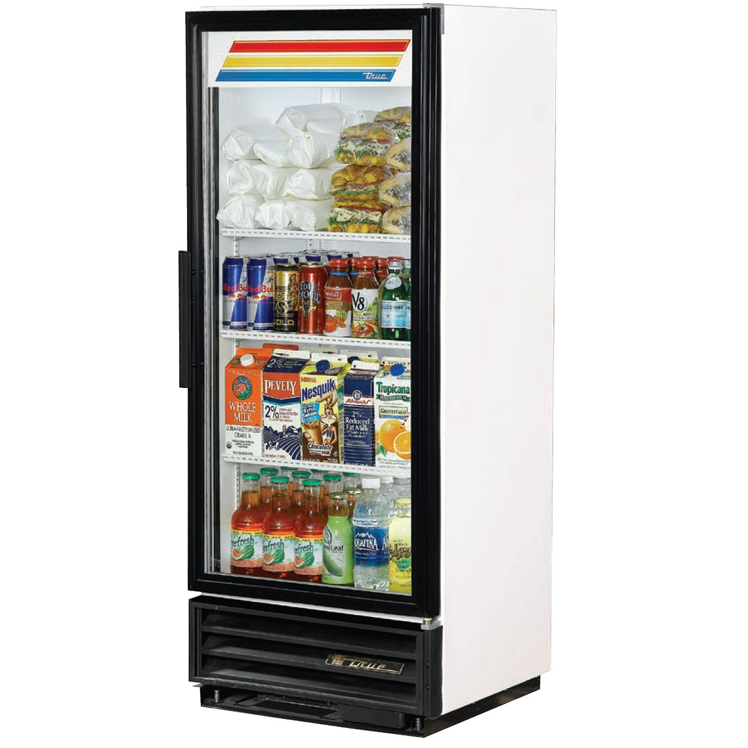Glass Front Refrigerator For Home Showcasing Shop Style In