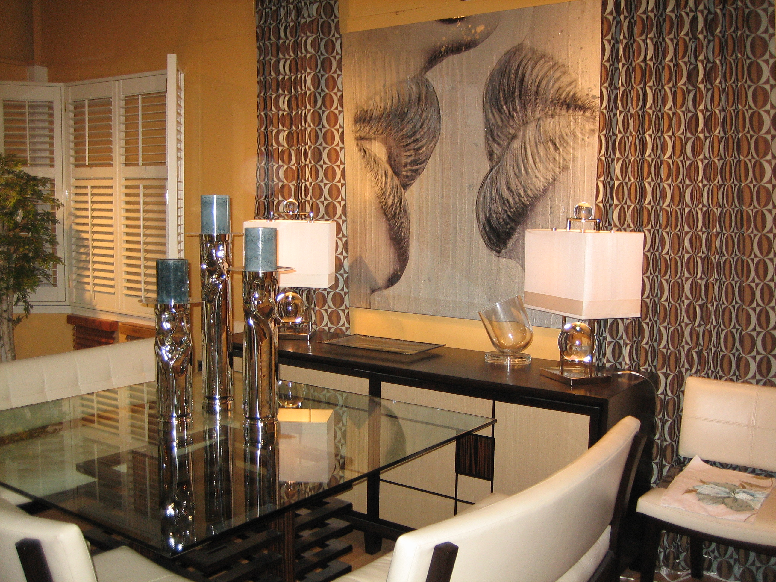 Window treatment ideas for dining room