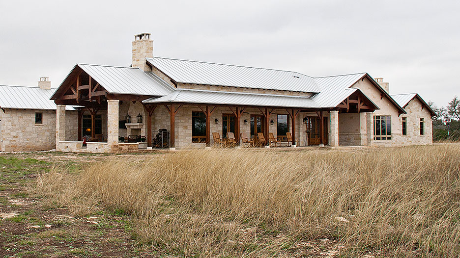 Texas hill country house plans a historical and rustic for Country style design homes