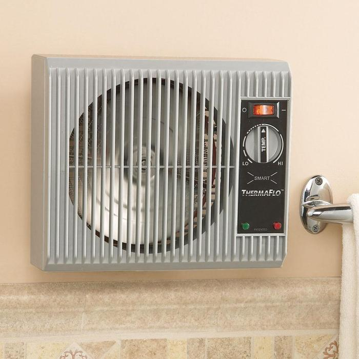 Wall mount space heater to warm up room inside your house - Wall mounted electric bathroom heaters ...