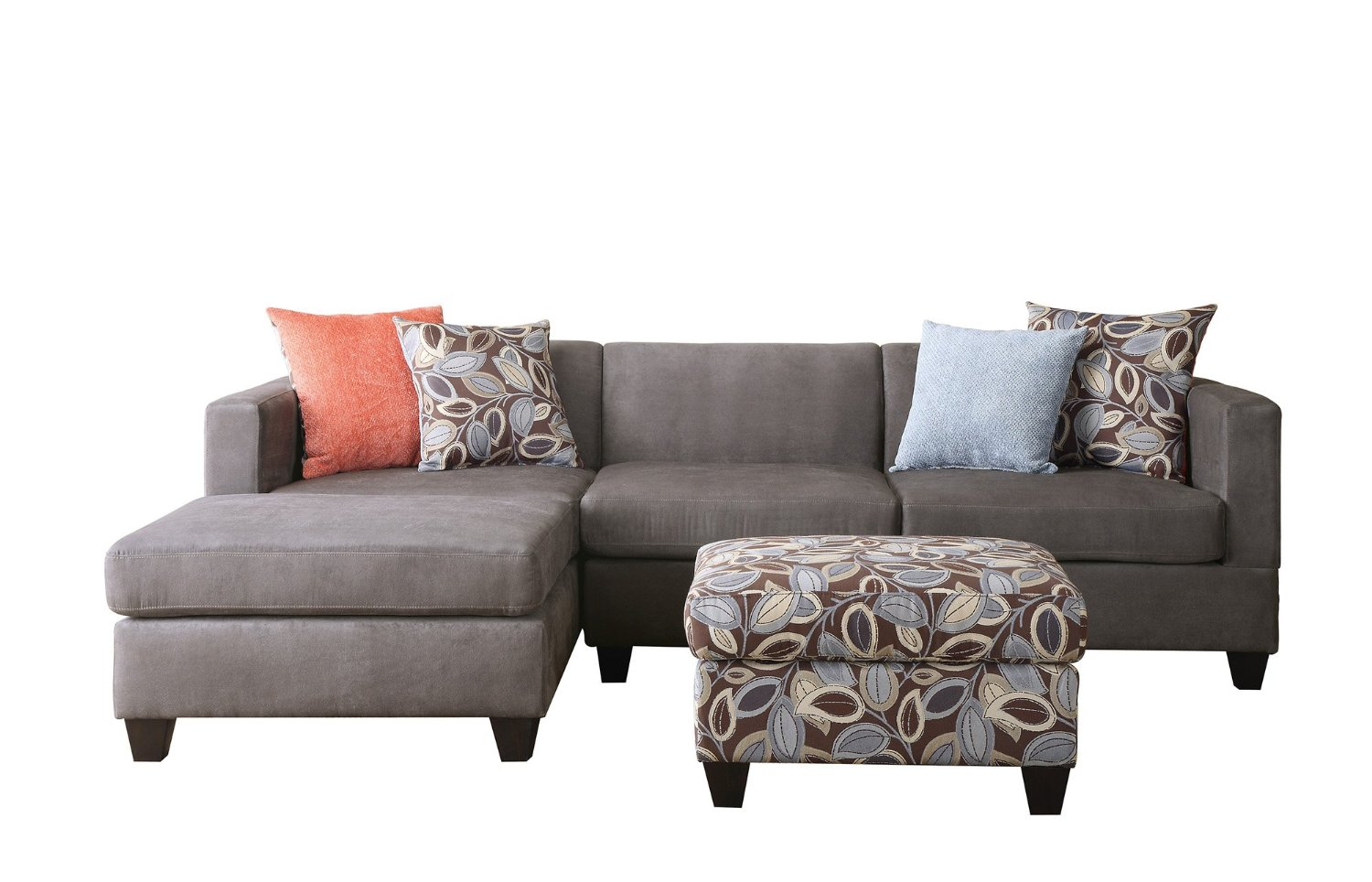 How Many Throw Pillows On A Sectional Couch : Types of Best Small Sectional Couches for Small Living Rooms HomesFeed