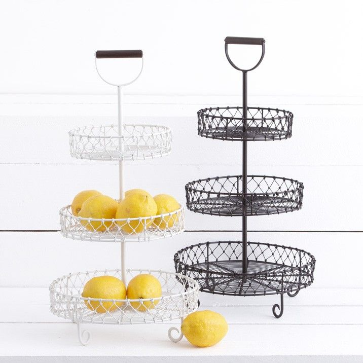 3 tier fruit basket fruit bar