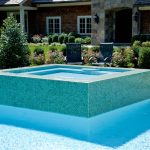 tile spa swimming pool