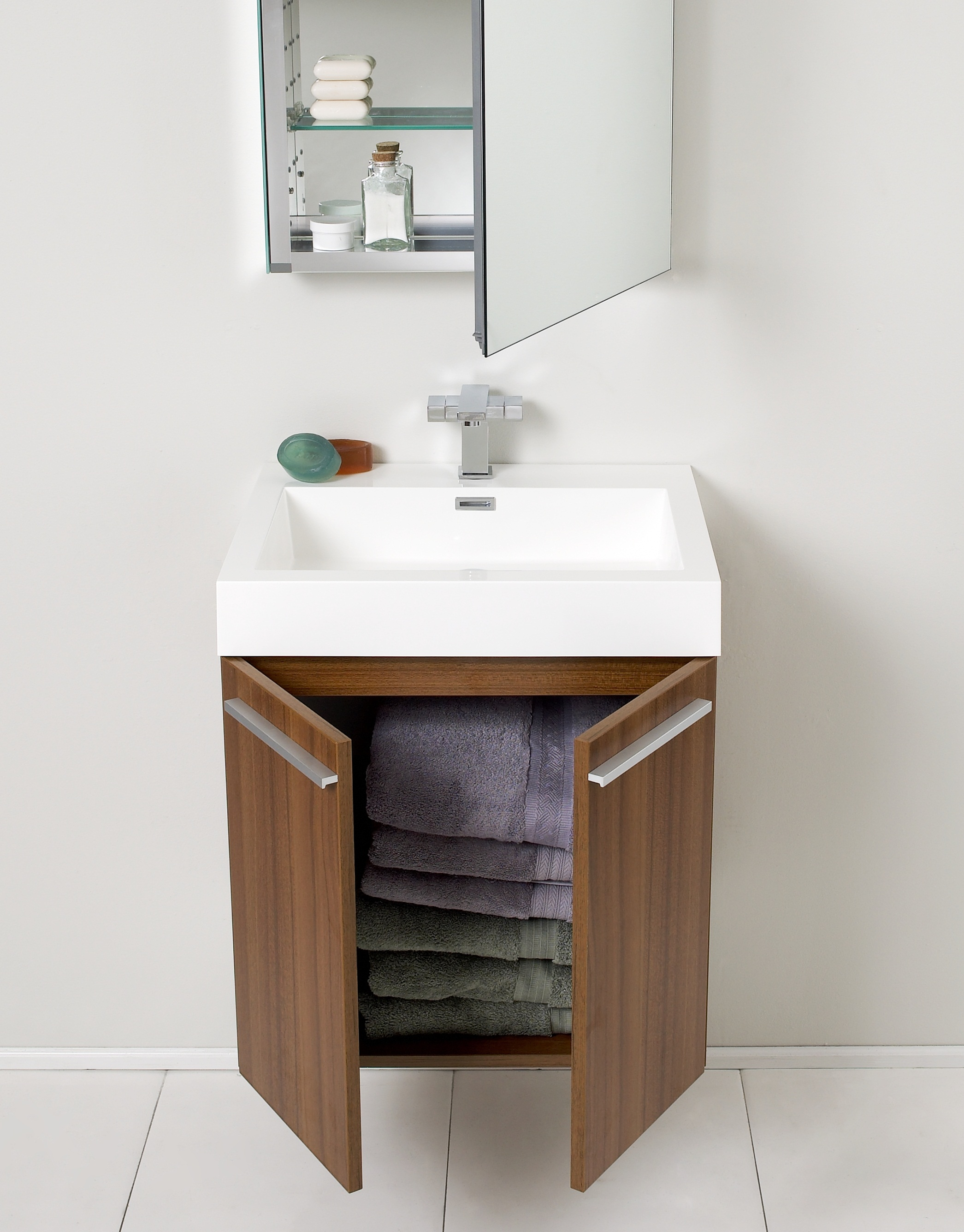 towel cabinet storage sink shelf - Modern Bathroom Cabinets Storage