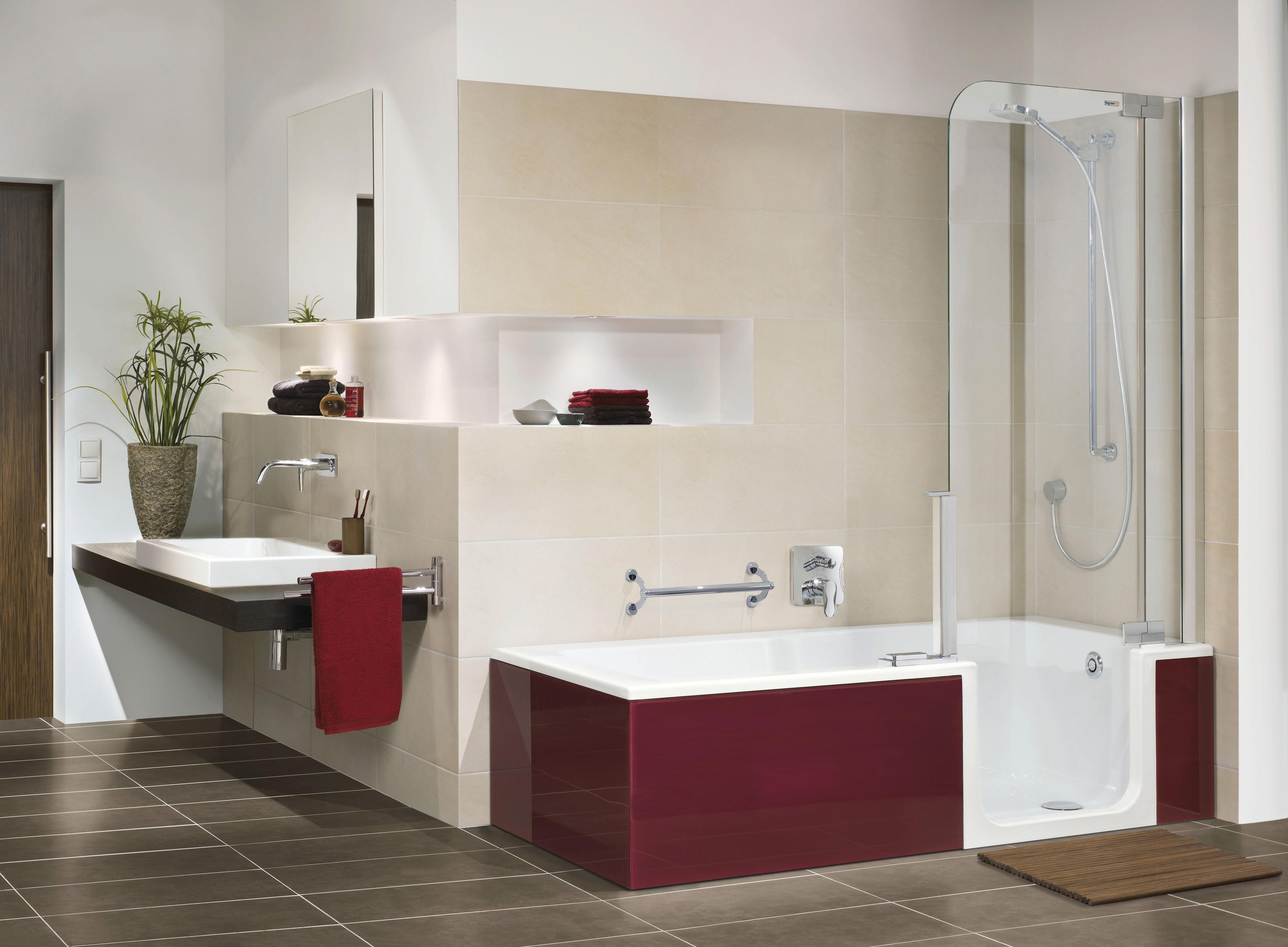Bathroom Tub Shower HomesFeed - Modern bathroom tub shower combo