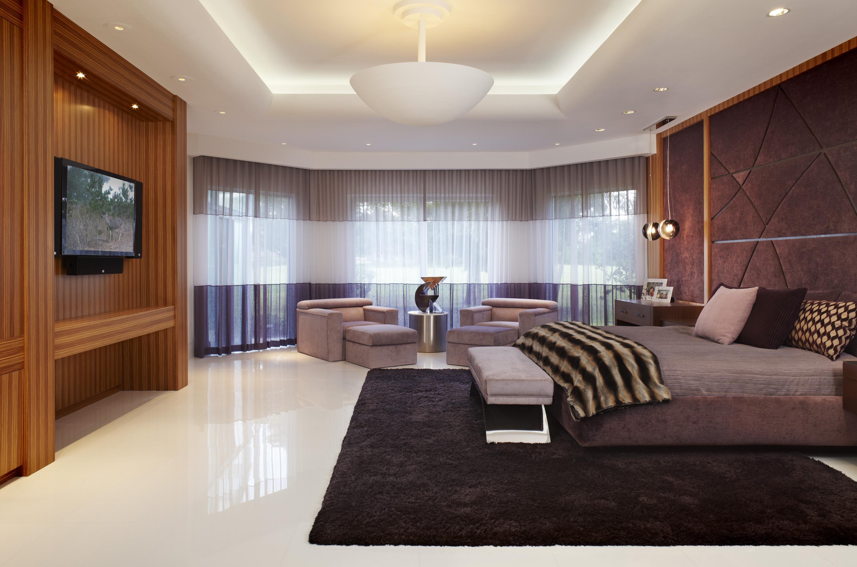 Modern Bedroom Television Ideas - HomesFeed