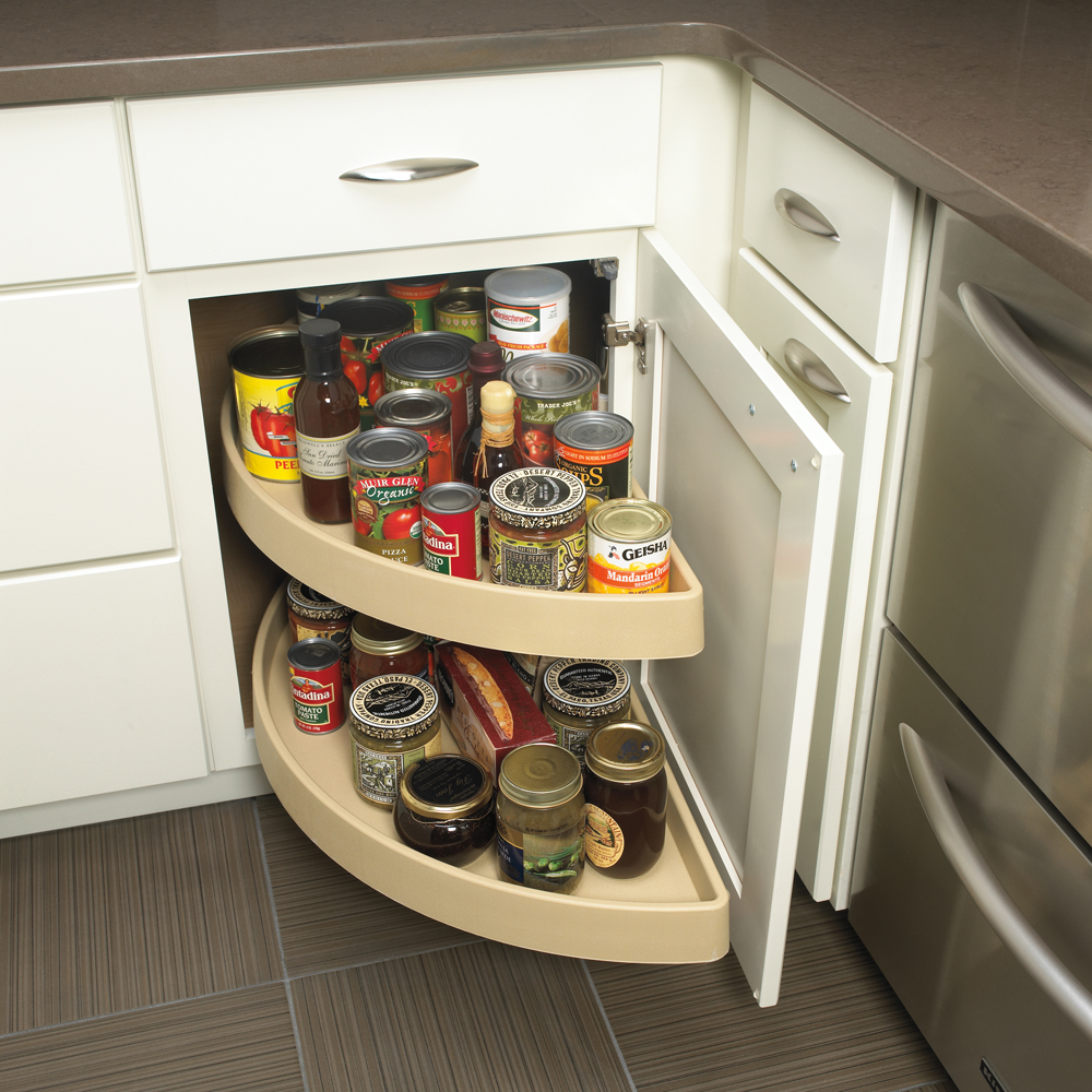 Unique Kitchen Cabinet Ideas: In Drawer Spice Racks Ideas For High Comfortable Cooking