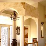 wall faux finishing classic chandeliers architecture
