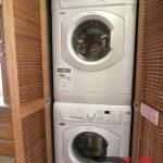 washer wood combo