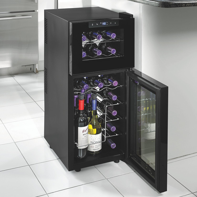 Wine Cooler Freezer Tile Floor