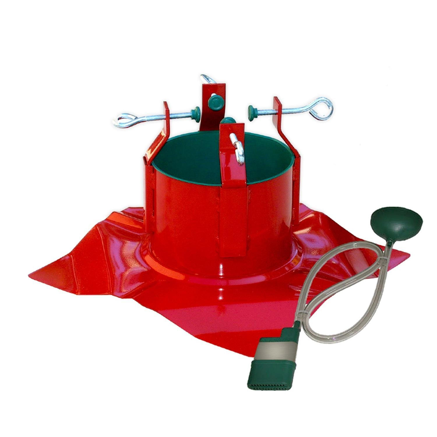 Wonderful Red Christmas Tree Stands
