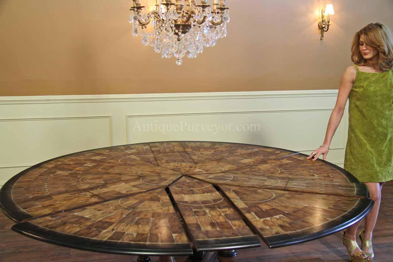 84 Round Dining Table Opens Spacious Hang Out Point | HomesFeed