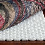 wonderful white best rug pad for hardwood floor with mounted texture style and patterned area rug in bold mode