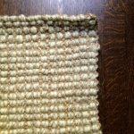 wood floor jute rug