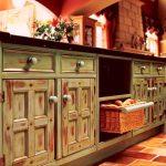 wood furniture ideas kitchen cabinets polymer Mediterranean Style home makeover