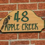 wood plaque home